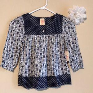 NWT Faded Glory blouse